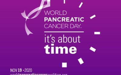 World Pancreatic Cancer Day 2020 den 19. november.