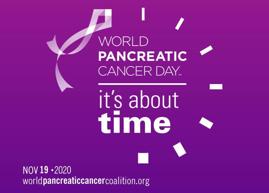 World Pancreatic Cancer Day 2020 den 19. november.