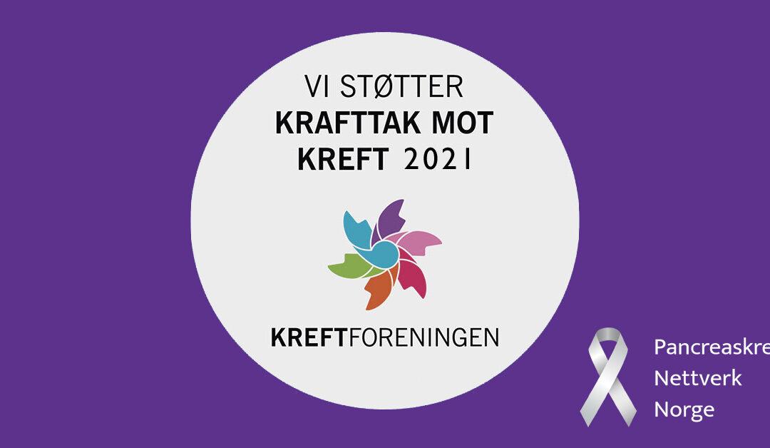 PKNN er med på Krafttak mot kreft 6.-14. mars 2021